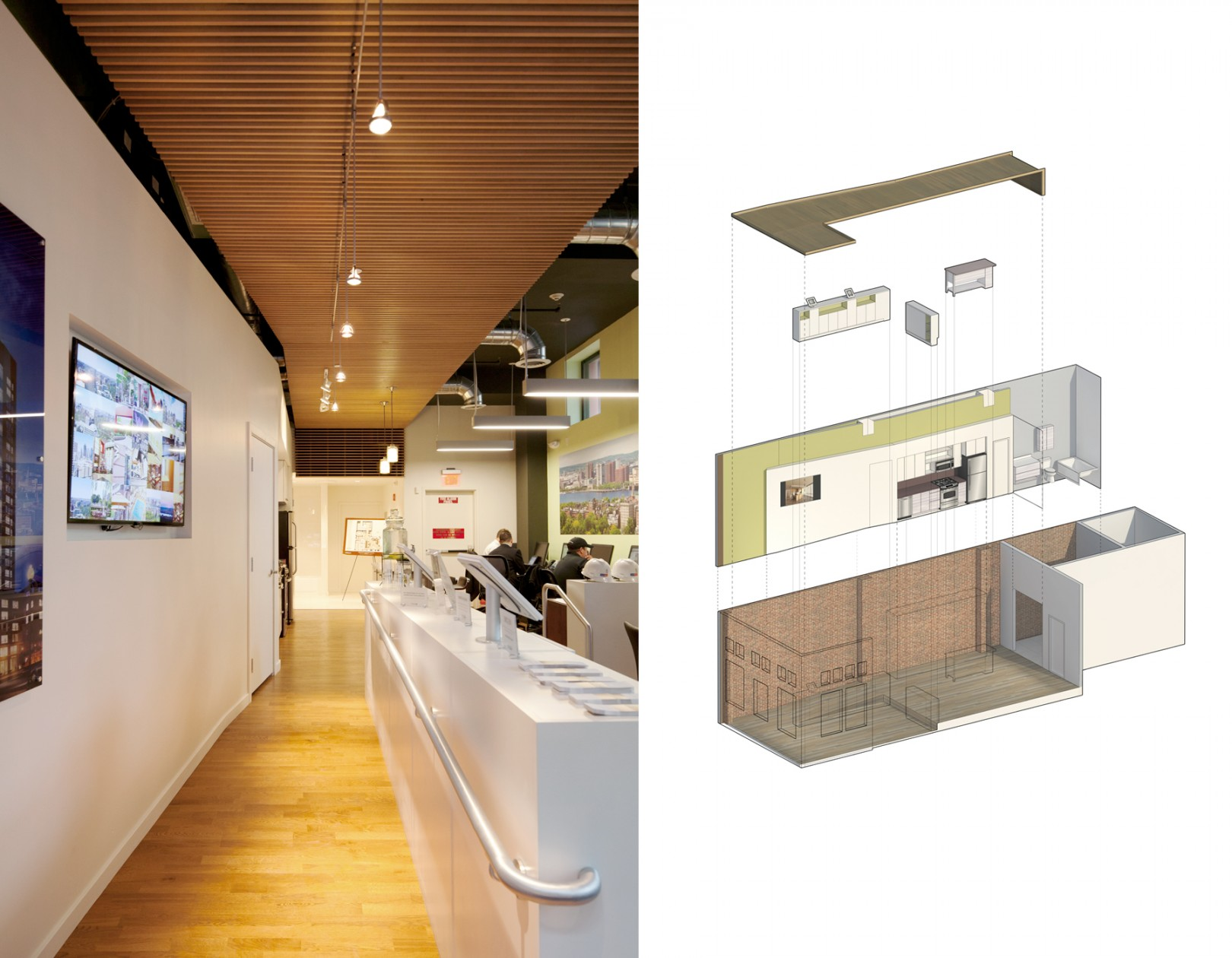 Leasing office cube design research for Leasing office decorating ideas